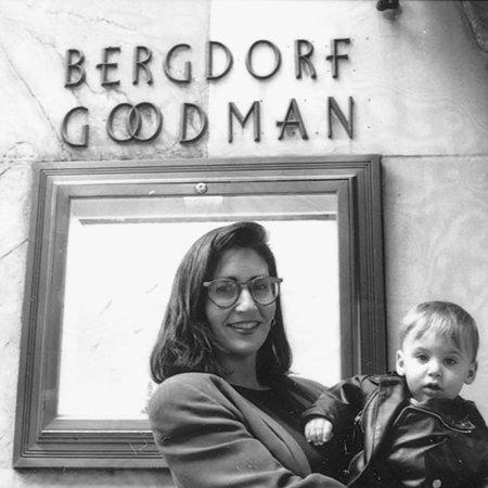 Бобби Браун с сыном